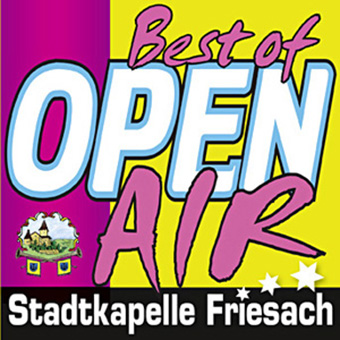 "DRCD-1004 Stadtkapelle Friesach ""Best of OPEN AIR"""