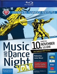 """Music & Dance Night 2012"" Eisenbahnermusikverein Knittelfeld"