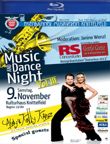 """Music & Dance Night 2013"" Eisenbahnermusikverein Knittelfeld"